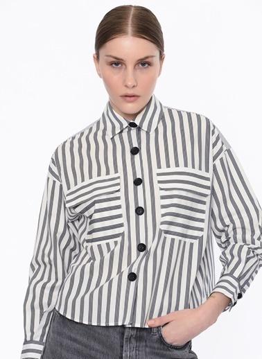 Twist Kadın  Gömlek TS1200025254 Beyaz